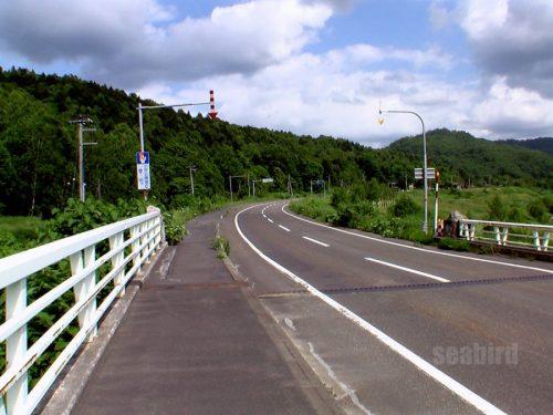 滝見大橋出口付近
