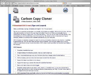 Carbon Copy Cloner01