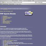 PHPのインストールと設定〜MacOSX自宅サーバ構築その9