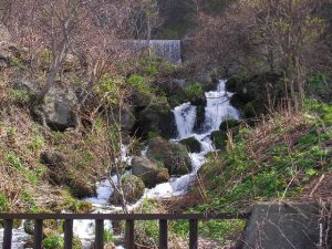 政泊川の滝