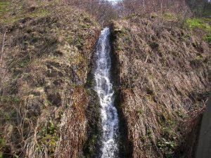 島牧村の無名滝