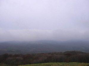 展望台から見た南西側