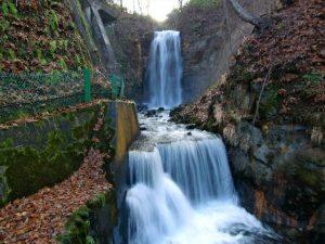 白糸の滝 札幌市南区