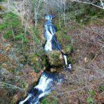 定山渓の滝見